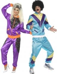 Costume coppia anni 80 per adulto