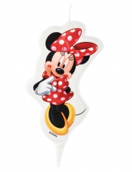 Candela di compleanno Minnie™ 5.5 x 9 cm
