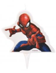 Candela di compleanno Spiderman™ 9 x 7 cm