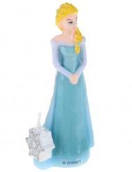 Candela di compleanno 3D Elsa Frozen™ 9.5 cm