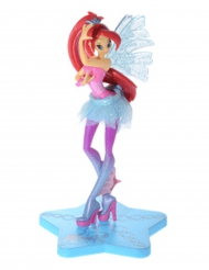Decorazione per torta Winx Club™ Sirenix Bloom 13 cm