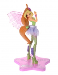 Decorazione in plastica Winx Club™Sirenix Flora 13 cm