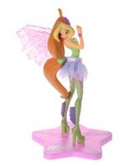 Decorazione in plastica Winx Club™Sirenix Flora 13 cm