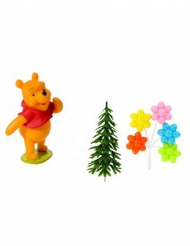 Decorazione per torta Winnie the Pooh™ 4 Pezzi
