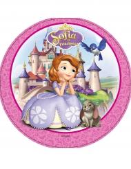 Disco in ostia Principessa Sofia™ con castello