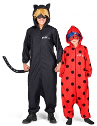 Costume coppia LadyBug™ e Chat Noir™ papà e figlia