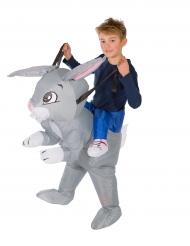 Costume da coniglio gonfiabile bambino