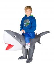 Costume da squalo gonfiabile bambino