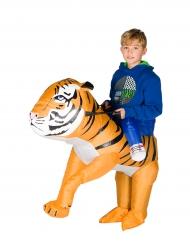 Costume da tigre gonfiabile bambino