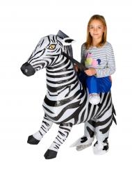 Costume da zebra gonfiabile bambino