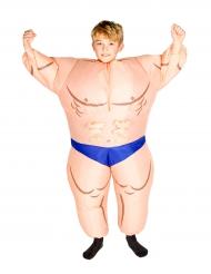 Costume da bambino muscoloso gonfiabile bambino