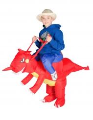 Costume dragone gonfiabile bambino