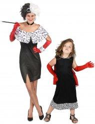 Costume da coppia crudele mamma e figlia