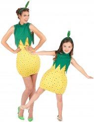 Costume coppia di frutta ananas mamma e figlia