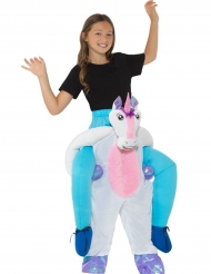 Costume da bambino a dorso di unicorno