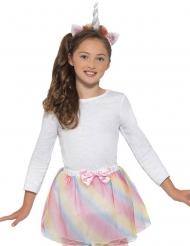 Kit per unicorno in colori pastello per bambina