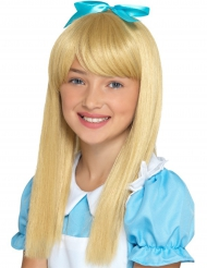 Parrucca principessa delle meraviglie bambina