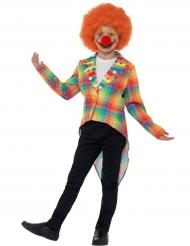 Giacca a coda di rondine clown per bambini