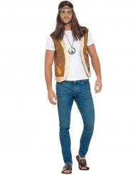 Gilet Hippie con pelliccia
