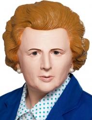 Maschera umoristica Primo ministro inglese donna