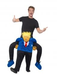 Costume uomo sulle spalle del presidente per adulto