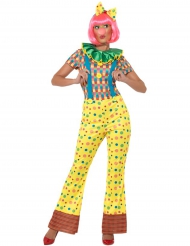 Costume tuta da clown per donna