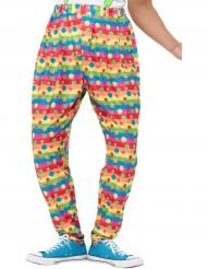 Pantaloni larghi da clown per adulto