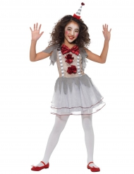 Costume clown vintage bambina