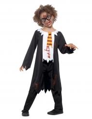 Costume da scolaro di magia zombie per bambino
