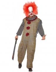 Costume clown vintage uomo