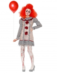 Costume da Clown Vintage per donna