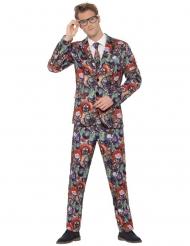 Costume da Mr. Clown malefico per adulto