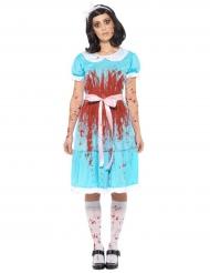 Costume da principessa delle meraviglie sanguinaria per donna