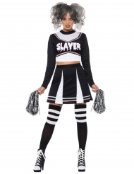 Costume da ragazza pompom gotica per donna