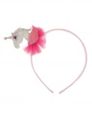 Cerchietto 3D unicorno per bambina