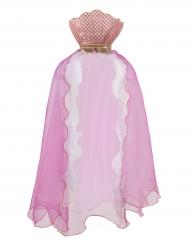 Mantello da sirena rosa per bambina