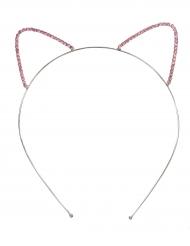 Cerchietto con orecchie da gatto per bambina
