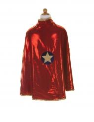 Mantello reversibile da supereroe per bambina