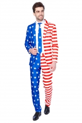 Costume Mr USA Flag per uomo Suitmeister™