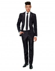 Costume Mr Solid nero uomo Suitmeister™