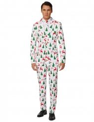Costume Mr Merry Xmas bianco uomo Suitmeister™