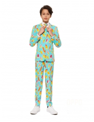 Costume da Mr. Iceman per adolescente Opposuits™