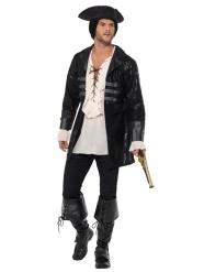 Cappotto da pirata deluxe per uomo