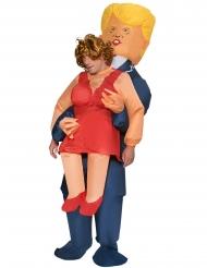 Costume uomo portato da Trump per adulto Morphsuits™