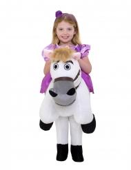 Costume da Principessa Raperonzolo™ in sella al cavallo Morphsuits™