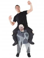 Costume da uomo portato da uno zombie Morphsuits™ per adulto