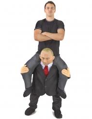 Costume uomo sulle spalle di Putin Adulto Morphsuits™