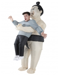 Costume uomo con lottatore di sumo per adulto Morphsuits™
