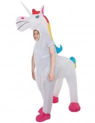 Costume gonfiabile unicorno gigante bambino Morphsuits™