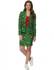 Costume Mrs Albero di Natale verde donna Suitmeister™